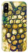 A Little Bit Abstract Grapes IPhone X Case
