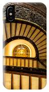 A Look Up The Stairs IPhone Case