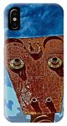 A Lucky Bull IPhone Case
