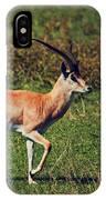 A Male Impala In Ngorongoro Crater. Tanzania IPhone Case