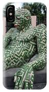 A Maze Ing Man 5 IPhone Case