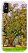 A Mighty Oak - Paint IPhone Case