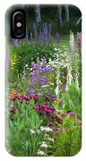 A Mixture Of Flowers Bloom In Hillside IPhone Case