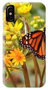 A Monarch Butterfly IPhone Case
