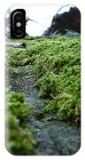 A Mossy Perspective IPhone Case