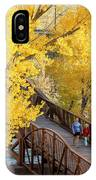 A Mother And Daughter Walking IPhone Case