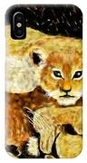 A Mother's Love - In The Den By Lcs IPhone X Case