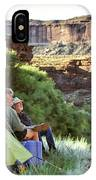 A Multi-generational Family Of Boaters IPhone Case