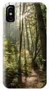 A Narrow Trail IPhone Case