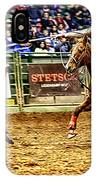 A Night At The Rodeo V10 IPhone Case
