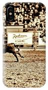 A Night At The Rodeo V11 IPhone Case
