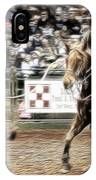 A Night At The Rodeo V12 IPhone Case