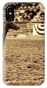 A Night At The Rodeo V22 IPhone Case
