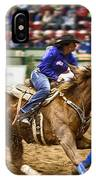A Night At The Rodeo V30 IPhone Case