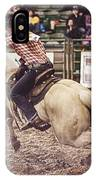 A Night At The Rodeo V34 IPhone Case