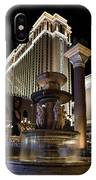 A Night At The Venetian Las Vegas IPhone Case