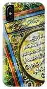 A Page From Quran IPhone Case