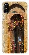 A Painting A Tuscan Shop Doorway IPhone Case