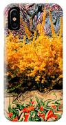 A Painting Springtime 2 Dali-style IPhone Case
