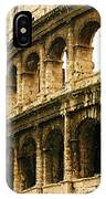 A Painting The Colosseum IPhone Case