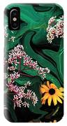 A Painting Wild Flowers Dali-style IPhone Case