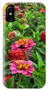 A Pair Of Yellow Zinnias 02 IPhone Case