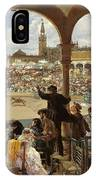 A Pass In The Bullring IPhone Case