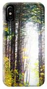 A Path In The Pines IPhone Case