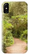 A Path To The Redwoods IPhone Case