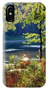 A Peek At Lake O The Pines IPhone Case