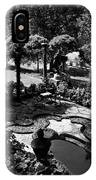 A Pond In An Ornamental Garden IPhone Case