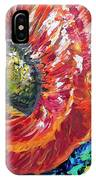 A Poppy Takes Center Stage IPhone Case