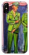 Daddy Soldier IPhone Case