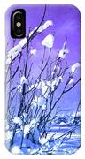 A Purple Winter IPhone Case