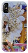 A Queen Of Carnival During Mardi Gras 2013 IPhone Case