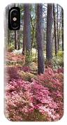 A Quiet Spot In The Woods IPhone Case