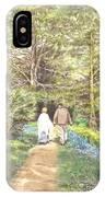 A Quiet Walk IPhone Case