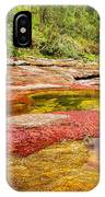 A Red And Yellow River In Colombia IPhone Case