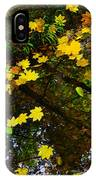 A Reflection Amongst The Leaves IPhone Case