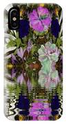 A River Of Flowers  IPhone X Case