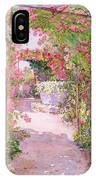 A Rose Arbor And Old Well, Venice IPhone Case