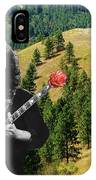 A Rose For The Hills IPhone Case