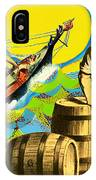 A Salty Dog IPhone Case