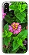 A Sea Of Zinnias 07 IPhone Case