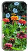 A Sea Of Zinnias 15 IPhone Case