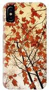 A Skyward View Of The Bare Branches IPhone Case
