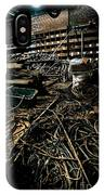 A Snake Pit Of Wires IPhone Case