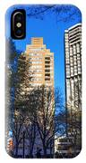 A Spring Day At Rittenhouse Square IPhone Case