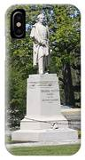 A Statue Of Colonel Thayer IPhone Case