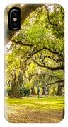 A Stroll In City Park IPhone Case
